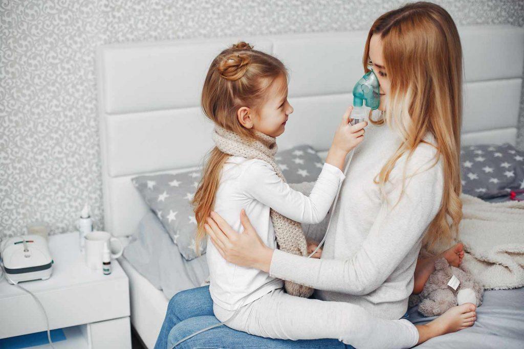 Инхалации у дома при респираторни заболявания